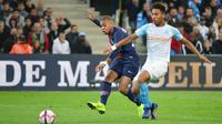 Kylian Mbappé avait ouvert le score lors de la victoire du PSG au match aller.
