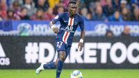 Idrissa Gueye a été victime d'une lésion avec l'équipe du Sénégal.