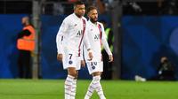 Neymar et Kylian Mbappé ont sauvé le PSG à Montpellier.