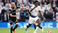 L'Ajax Hakim Ziyech (à droite) s'est imposé sur la pelouse de Tottenham à l'aller (0-1).
