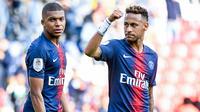 Kylian Mbappé et Neymar sont incertains pour la venue de Liverpool en Ligue des champions.