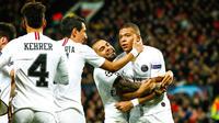 Kylian Mbappé avait inscrit le deuxième but du PSG au match aller.