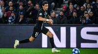 Au match aller, le PSG avait été sauvé par Angel Di Maria, auteur du but égalisateur dans les arrêts de jeu.