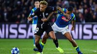 Neymar était condamné à l'exploit à chaque prise de balle contre Naples.