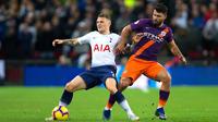 Tottenham défie dans son antre Manchester City, leader de Premier League.