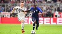 Ngolo Kanté et les Bleus ont su se montrer solides défensivement pour ramener un bon nul d'Allemagne (0-0).