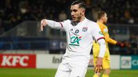 Rayan Cherki a inscrit le 7e but lyonnais contre Bourg-en-Bresse.