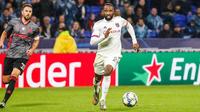 Moussa Dembélé n'a toujours pas trouvé le chemin des filets sur la scène européenne cette saison.