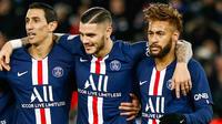 Comme contre Lille, Neymar sera-t-il aligné aux côtés de Mauro Icardi et Angel Di Maria ?