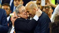 Zinedine Zidane pourrait se laisser tenter par un retour cet été.