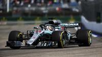 Lewis Hamilton compte désormais 50 points d'avance sur Sebastian Vettel en tête du championnat du monde.