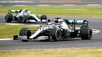 Lewis Hamilton a décroché sa septième victoire de la saison à Silverstone.