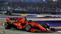 Sebastian Vettel restait sur 23 courses sans victoire.