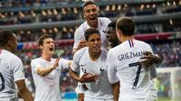 L'équipe de France a remporté ses deux matchs disputés en Coupe du monde contre la Belgique.