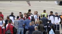 Les Bleus ont atterri ce dimanche au Bourget.