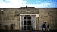 L'entrée du centre pénitentiaire de Fresnes, dans le Val-de-Marne (94).