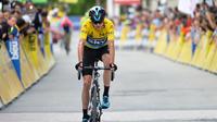 Le coureur britannique reste sur un troisième succès sur les routes du Critérium du Dauphiné.