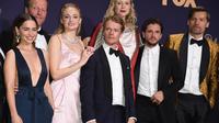 Les acteurs de Game of Thrones tout sourire à la cérémonie des Emmy Awards, dimanche 22 septembre.