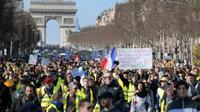 Un rassemblement au niveau de l'Arc de Triomphe, à Paris, est notamment attendu ce samedi pour l'acte XVI.