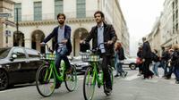 Plusieurs centaines de ces vélos sont disponibles dans Paris.