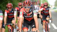 Vainqueur du contre-la-montre par équipes avec la BMC, Greg Van Avermaet a endossé le maillot jaune à l'issue de la 3e étape.
