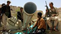 Des forces pro-gouvernementales à Sanaa, au Yémen, dimanche 17 avril 2016.