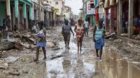 La ville haïtienne de Jeremie au lendemain du passage de l'ouragan Matthew, le 6 octobre.