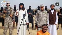 Le protagoniste de la vidéo (en blanc) appelle tous les musulmans à attaquer les membres du Hamas, à Gaza.