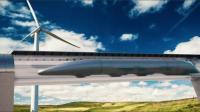 En théorie, le bolide sur rails sera autosuffisant en énergie car recouvert de panneaux solaires.