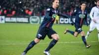 Zlatan Ibrahimovic a encore sauvé le PSG grâce à un but sur pénalty en fin de rencontre.