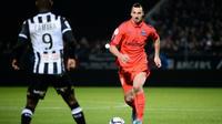 Au match aller (0-0), Zlatan Ibrahimovic et les Parisiens n'ont pas réussi à trouver le chemin des filets pour la seule fois cette saison en Ligue 1.