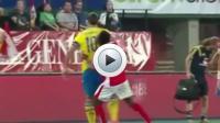 """David Alaba victime de la """"taille"""" de Zlatan ?"""