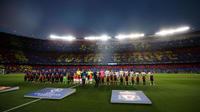 Barcelone et son Camp Nou arrivent en tête des villes pour assister à un match, selon un tiers des Français.