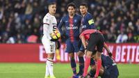 Désormais à Rennes, le milieu de terrain Hatem Ben Arfa n'aura été titulaire qu'à cinq reprises avec Paris.