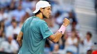 Pour sa première demi-finale en Grand Chelem, Lucas Pouille sera opposé au n°1 mondial Novak Djokovic.