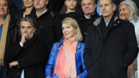 Margarita Louis-Dreyfus (au centre) est l'actionnaire majoritaire de l'Olympique de Marseille.