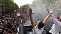 Environ 300.000 personnes sont attendues à la Techno Parade.
