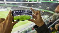 Les statistiques des joueurs apparaissent en temps réel sur les smartphones.