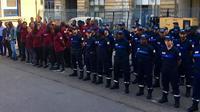 Plus de 3.000 agents de la ville sont en train d'être formés, prêts à former cette future police municipale.