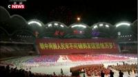 Corée du Nord : spectacle géant en l'honneur du président chinois