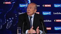 Gérard Collomb annonce sa candidature à la mairie de Lyon et à la métropole