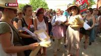 Toulouse : les professeurs en grève sont venus rendre leurs copies