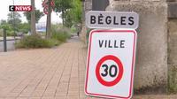 "Bègles première ville ""zone 30 km/h"""