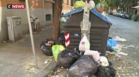 Rome croule sous des tonnes de déchets
