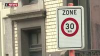 A Bruxelles, la limitation en ville à 30 km/h fait débat