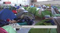 Nantes : plus de 300 réfugiés entassés dans un gymnase en pleine chaleur