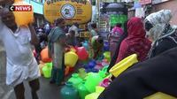Inde : la ville de Chennai confrontée à une pénurie d'eau