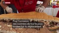 Mexique : record du plus long sandwich du monde