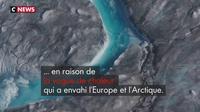 Le Groenland a perdu plus de 10 milliards de tonnes de glace mercredi