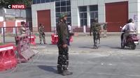 Au Cachemire pakistanais, les réfugiés craignent pour leurs familles côté indien